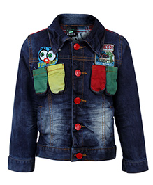 Noddy Original Clothing Denim Jacket - Patch Work