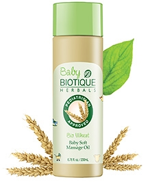 Biotique Bio Wheat Baby Soft Massage Oil - 210 ml