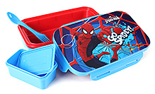 Spider Man Lunch Box - Blue And Red