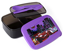 Disney Pixar Car Lunch Box - Purple And Black