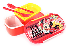 Minnie Mouse Lunch Box - Yellow And Red