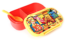 Winnie The Pooh Lunch Box - Red And Yellow