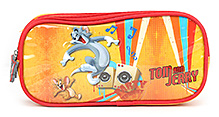 Tom And Jerry Pencil Pouch - Multi Color