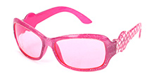 Hopscotch Kids Sunglasses Pink - Heart Prints