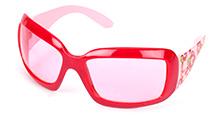 Hopscotch Kids Sunglasses Red - Rose Prints