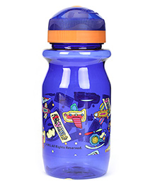 Disney Printed Sipper Bottle - Dark Blue