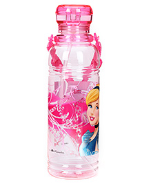 Disney Princess Sipper Bottle Pink - Cinderella