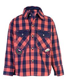 Cucumber Full Sleeve Shirt - Checks