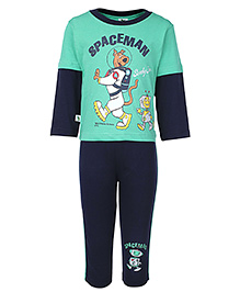 Cucumber Doctor Sleeve T-Shirt And Leggings - Scooby Doo Print