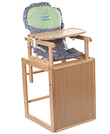 Cots & More High Chair - Natural