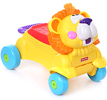 Fisher Price Go Baby Go Stride To Ride Yellow - Lion