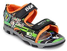 Ben 10 Sandals Dual Velcro Strap - Orange