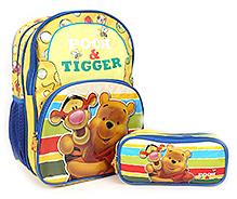 Winnie The Pooh School Bag - 14 Inches