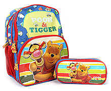 Winnie The Pooh School Bag - 14 Inches