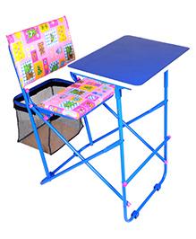 Mothertouch Educational Desk Set - Heart And Flower Print
