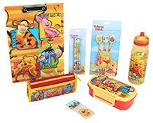 Winnie The Pooh School Kit - Pack Of 7