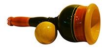 Desi Toys Wooden Cup Aur Gola