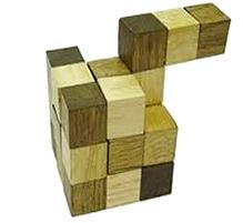 Desi Toys Wooden Ghan Akar Paheli
