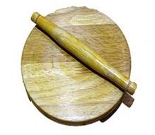 Desi Toys Wooden Chakla Belan