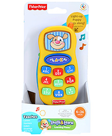 Fisher Price Laugh And Learning Phone - Yellow