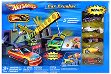 Hotwheels Car Crusher