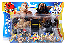 WWE Slam City Figure - Brock Lesnar Vs. Mark Henery