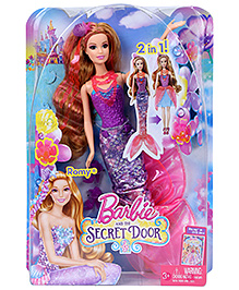 Barbie And The Secret Door Romy 2 In 1 Doll - Height 29 Cm - 3 Years +