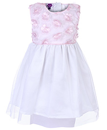 Cupcake Sleeveless Frock - Floral Tags