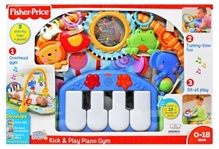 Fisher-Price - Kick & Play Piano Gym