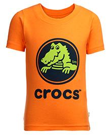 Crocs Half Sleeves T-Shirt - Printed
