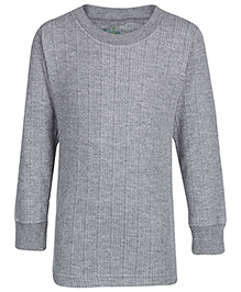 Babyhug Thermal Top Full Sleeve - Grey - 3 To 4 Years
