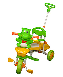 Sunbaby Hippo Musical Tricycle - Green