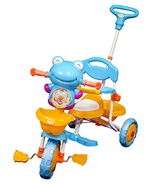 Sunbaby Frogie Musical Tricycle - Blue And Yellow