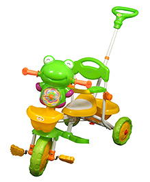 Sunbaby Frogie Musical Tricycle - Green