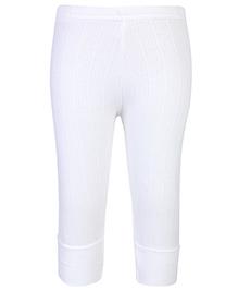 Babyhug Thermal Legging - Off White
