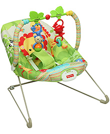 Fisher Price Rainforest Friends Bouncer - Green