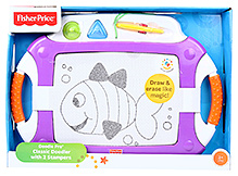 Fisher Price Doodle Pro Classic Doodler With 2 Stampers - Purple