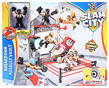 WWE Slam City Breakdown Assault Vault
