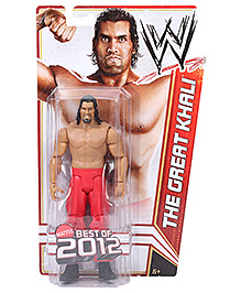 WWE Figure Assortment The Great Khali - Height 16 cm