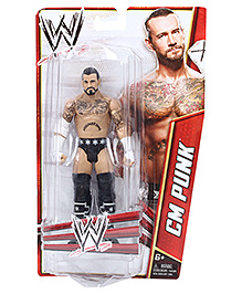 WWE Figure Assortment CM Punk - Height 16 cm