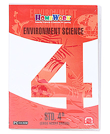 Homework CD-ROM Environment Science Std. 4th - CBSE NCERT Based