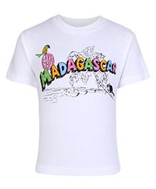 Zero Half Sleeves T-Shirt - Madagascar Print