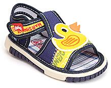 Doink Baby Sandals Velcro Closure - Duck Patch