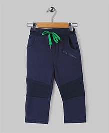 Navy Casual Fleece Pants