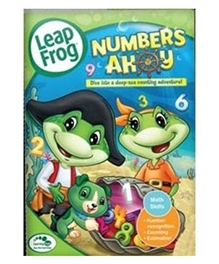 Leap Frog Numbers Ahoy DVD - English