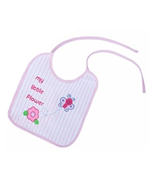 Tolly Joy Feeding Bib - My Little Flower