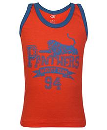 Zero Sleeveless Vest - Panther Print