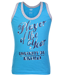 Zero Sleeveless Vest - Player Of The Year Print