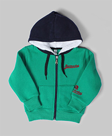 Green & Blue Minimarket Hoodie Jacket