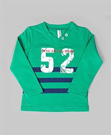 Baobaoshli Trendy Sweatshirt - Green